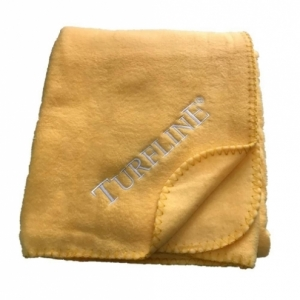 Logo Embroidered Polar Blankets Throws