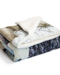printed sherpa fleece throw blanket7