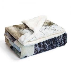 printed sherpa fleece throw blanket4