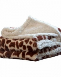printed sherpa fleece throw blanket8