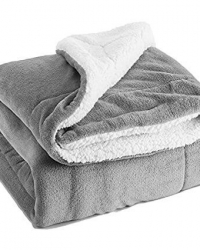 sherpa fleece blankets throw