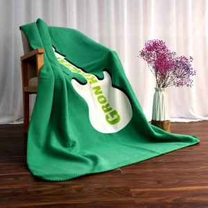 Custom Guitar Printed Polar Fleece Blanket