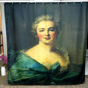 Custom Famous Paintings Shower Curtains