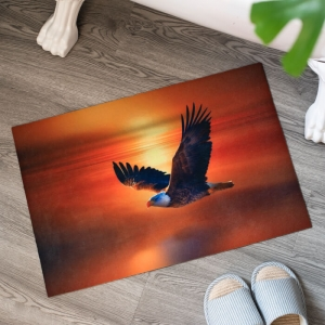 Custom Eagle Printed Floor Mats Wholesale