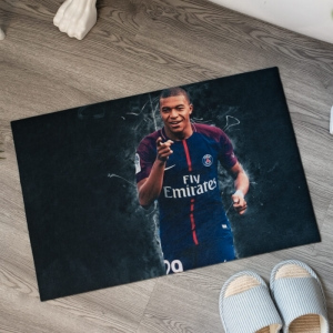 Custom Floor Mats with Celebrity Printing