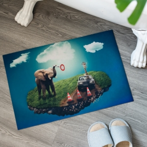 Custom Made Beautiful Photo Printed Floor Mat